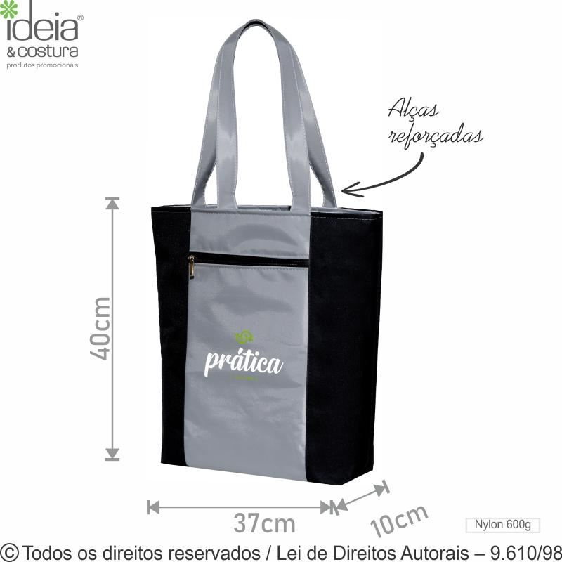 72N70 BOLSA PORTA NOTEBOOK DE NYLON 70 PVC 37X40X10CM