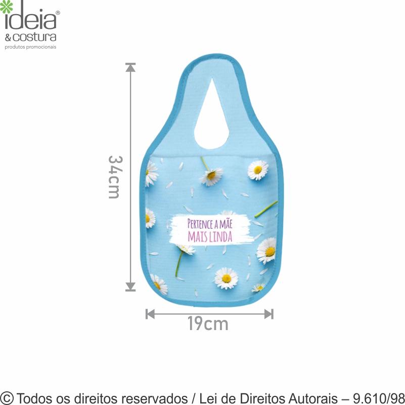 LIXOCAR DE PET 150G 19x34CM 705P