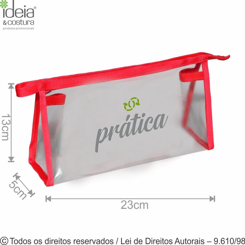 NECESSAIRE DE PVC 23X13X5CM N32