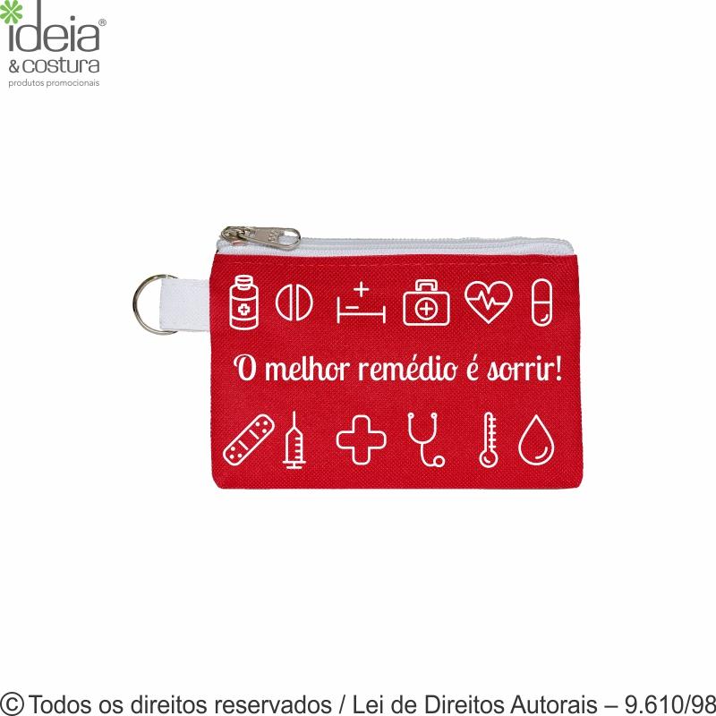 PORTA MEDICAMENTO DE NYLON 15,5X10,5CM N26  - A