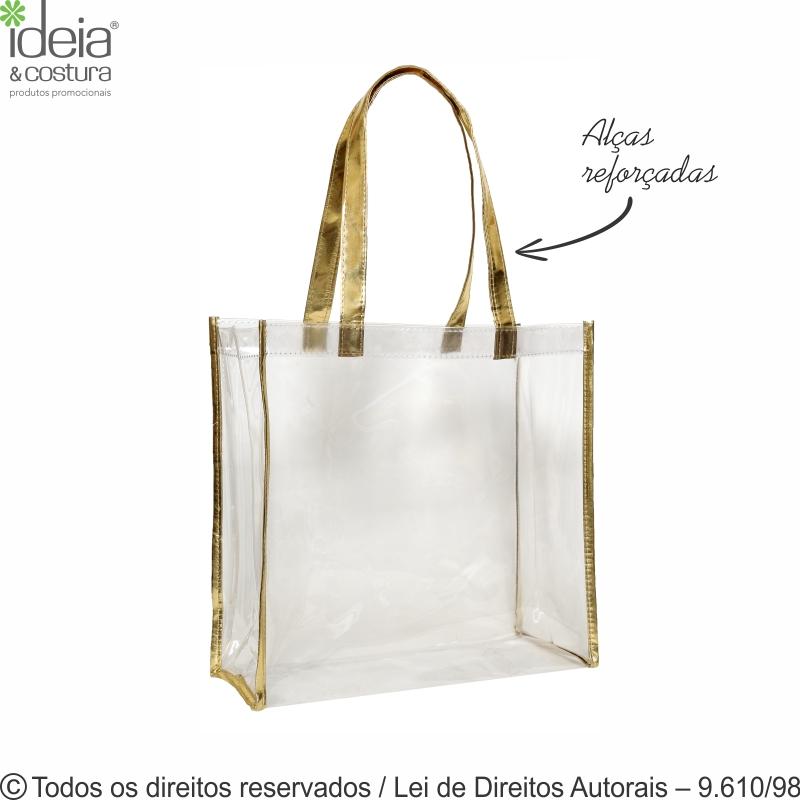 SACOLA DE PVC 040  35X33X15CM 302